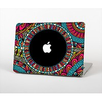 "The Vector Colored Aztec Pattern WIth Black Connect Point Skin Set for the Apple MacBook Pro 13""   (A1278)"