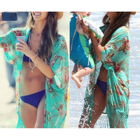 Beach Cover Up Sexy Swimsuit Bathing Suit Cover Up Kimono Beach Wear