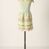 Sewing Basket Apron by Anthropologie Multi Adult Aprons