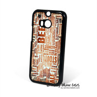 Craft Beer New York 2 HTC One M8 Case Cover for M9 M8 One X Case