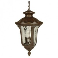 Craftmade Exterior Lighting Sheffield Series Traditional Outdoor Pendant Light in Aged Bronze - Z3521-98 - Exterior Lighting - Lighting