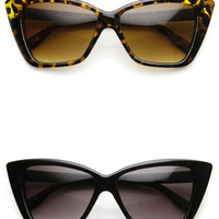 Bold Cat Eye Sunglasses