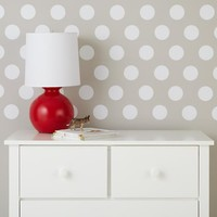 Lottie Dots Decal (White)