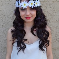 White Flower Headband #C1002