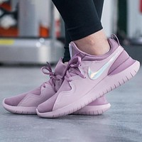 Nike Tessen Laser Trending Women Casual Sport Shoes Sneakers Purple