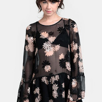Dolled Up Tunic Dress By For Love & Lemons - $182.00 : ThreadSence, Women's Indie & Bohemian Clothing, Dresses, & Accessories