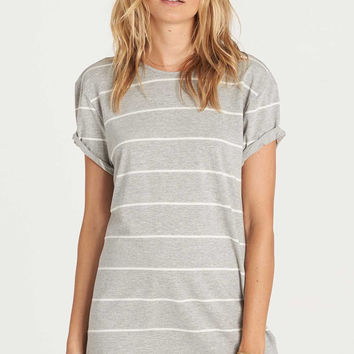Billabong - Down Time Dress | Athletic Grey