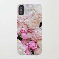 summer peonies iPhone Case by sylviacookphotography