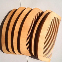 Fedex Free Shipping Wooden comb natural health cherry wood comb anti-static care cherry wood comb