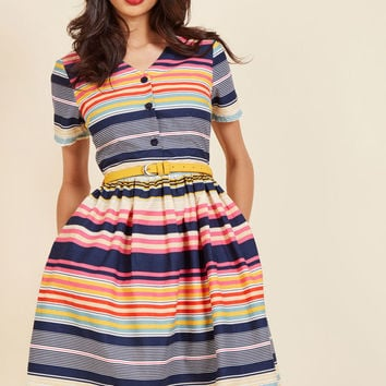 Captivate in Color Shirt Dress