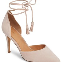 Halogen® Hamindy Lea Lace-Up Pump (Women) | Nordstrom