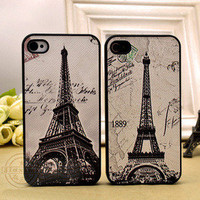 shego shopping mall — Retro Eiffel Tower Hard Cover Case For Iphone 4/4s