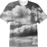 In the Clouds T-Shirt created by PoseManikin | Print All Over Me