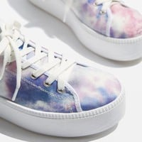 CRUMBLE Tie-Dye Flatforms - Trainers - Shoes