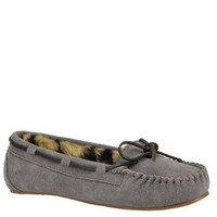 Slippers International Women's Peggy Sue Moccasin 7 4A US Grey-Suede