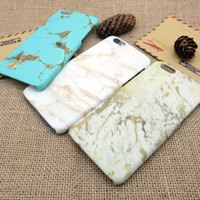 Unique Marble Best Protection iPhone 7 7 Plus & iPhone 6 6s Plus & iPhone 5s se Case Personal Tailor Cover + Gift Box