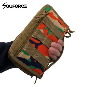 High quality Tactical Molle Waist Pack Phone Pouch Sports Wallet Card Hand Bag for Outdoor Camping Sports