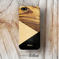 3D-sublimated,Mobile accesories, iPhone 4 case, iPhone 4S case, iPhone 5 case, Geometric Wood.