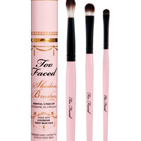 Too Faced Shadow Brushes Essential 3 Piece Set