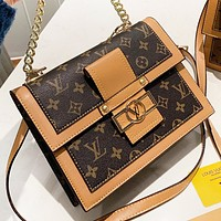 LV Louis Vuitton New fashion monogram leather shoulder bag crossbody bag