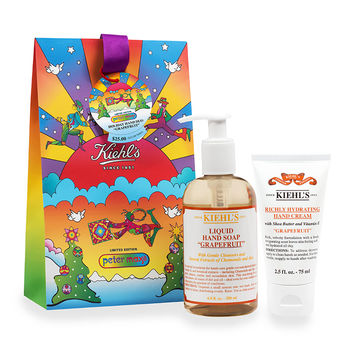 Limited Edition Holiday Hand Duo, Grapefruit by Peter Max - Kiehl's Since 1851