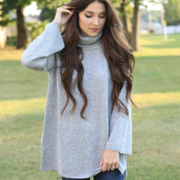 Happily Grey Sweater