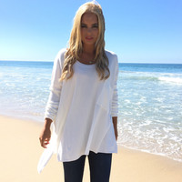 Pocket Full Of Love Knit Sweater In Ivory