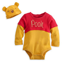 Winnie the Pooh Disney Cuddly Bodysuit Costume Set for Baby