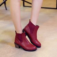 High Heels Ankle Boots Women Shoes New Arrival