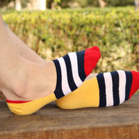 Men's Socks Socks Classic Male Brief Cotton Invisible Man Sock Slippers Shallow Mouth Sock