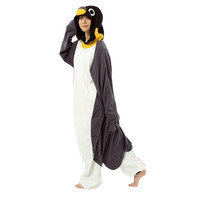 Unisex Adult Pajamas  Cosplay Costume Animal Onesuit Sleepwear Suit    Penguin