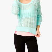 Perforated Pullover | FOREVER 21 - 2000049742