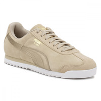 PUMA Womens Metallic Safari Roma Basic Trainers