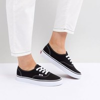 Vans Authentic sneakers in black and white at asos.com