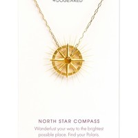 Dogeared Petalbox North Star Compass Pendant Necklace (Nordstrom Exclusive) | Nordstrom