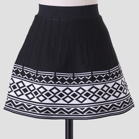 Some Might Say Geometric Skirt