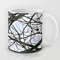 Trees, Nature, Renewal, Spring, Transition - Ceramic Mug, 2 Sizes Available - Kitchen, Bathroom, New Home, Gift - Made To Order - RNL#81