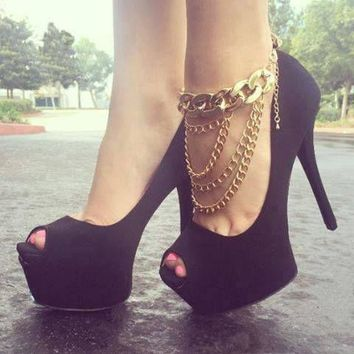 Sexy Cute Jewelry Ladies New Arrival Shiny Gift Stylish Fashion Accessory Anklet [6768751111]
