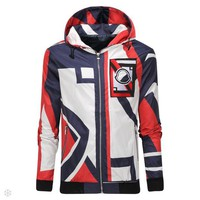 Moncler 2018 autumn and winter new slim thin baseball uniform jacket