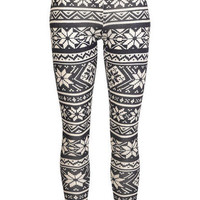 Nordic Knit Legging