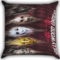 Hollywood Undead Band A0278 Zippered Pillows  Covers 16x16, 18x18, 20x20 Inches