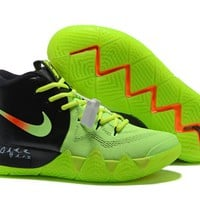 Nike Kyrie 4 EP Black/Green Basketball Shoe