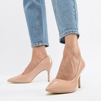 New Look Patent Pointed Court at asos.com