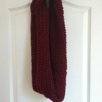 Knitted Scarf (Maroon) from Belle La Vie Boutique