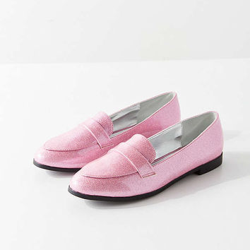 Gigi Glitter Loafer | Urban Outfitters