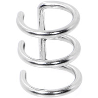 Illusion 3-Ring Non Pierced Clip On Ball Closure Ring | Body Candy Body Jewelry
