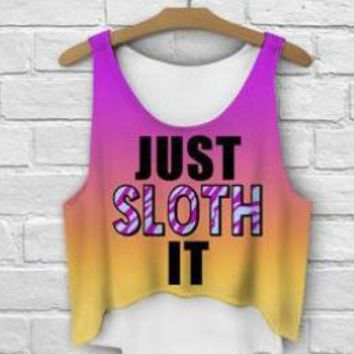 Just Sloth it Not Nike