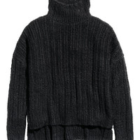Oversized Turtleneck Sweater - from H&M