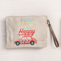 MONA B RECYCLED CANVAS SALTY & SANDY WET BAG