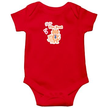 You are the Best Baby Bodysuits